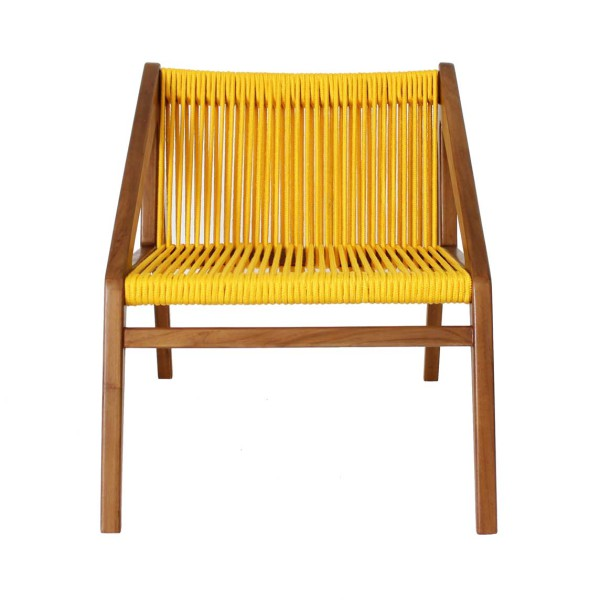 Abel Lounge Chair front