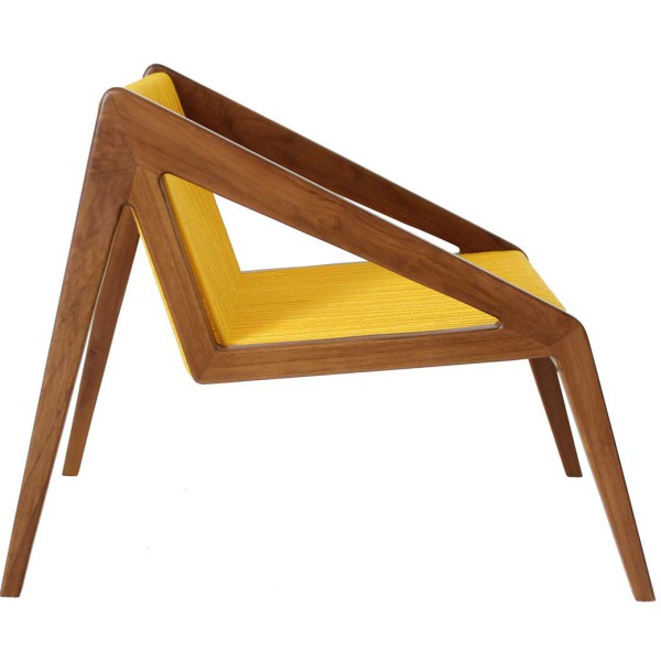 Abel Lounge Chair side