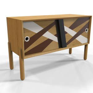 Onne Dresser, dresser made of teak wood