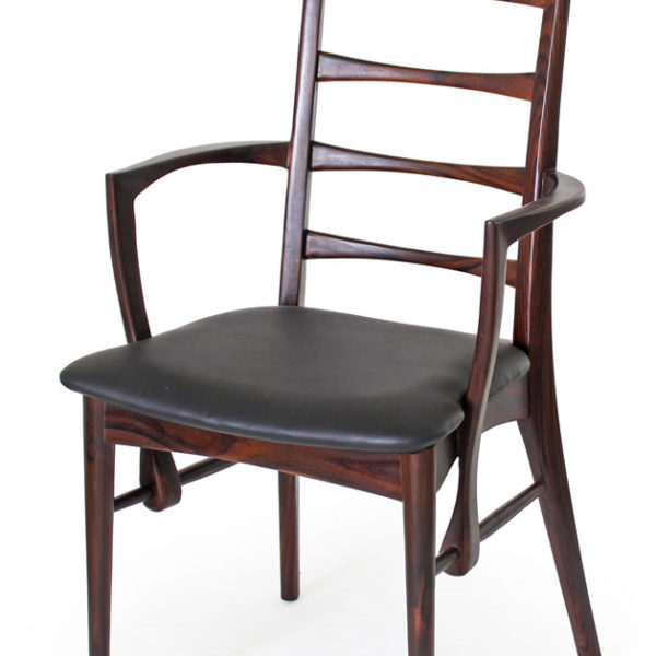 Lis chair, made in Indonesian Rosewood