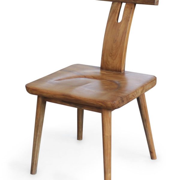 Tea Chair. Solid Teak Wooden Chair from Jepara